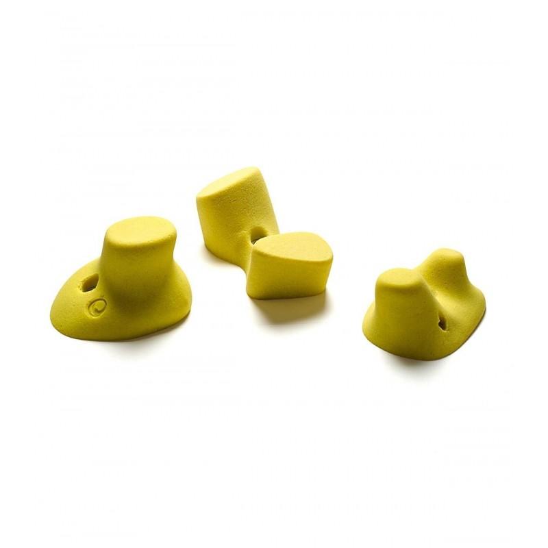 Pack Klettergriffe Revolution 118 Griffe bis Größe XL