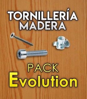 Befestigungsteile für Holz für Pack Evolution