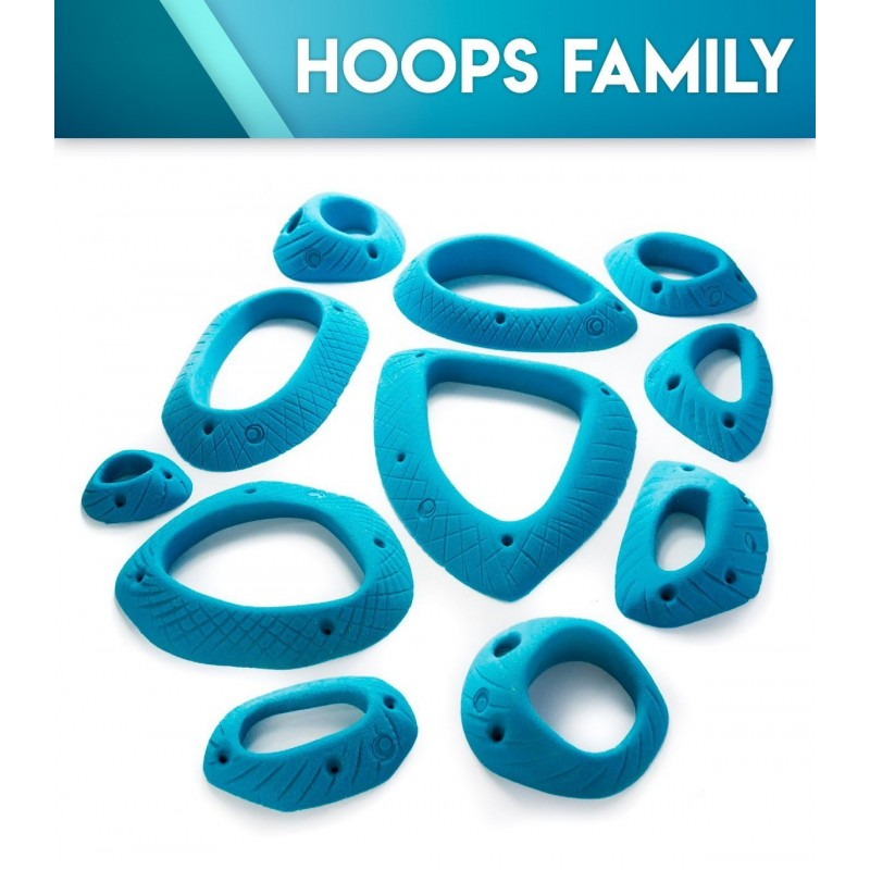 Klettergriffe Hoops Family